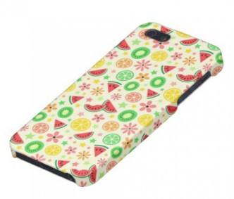 Summer fruit - melon lime lemon kiwi fresh pattern iPhone 5 case