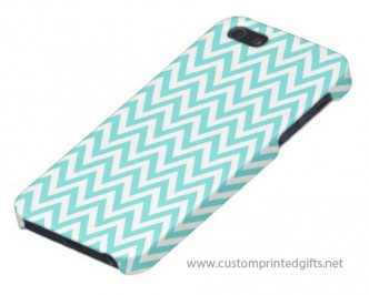 Fashionable iphone 5 case for women with trendy zig zag pattern