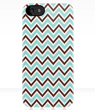Chic chevron zigzag pattern iPhone case