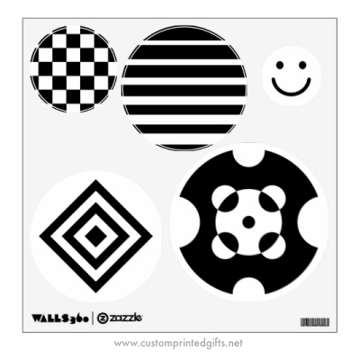 Black And White Patterns Baby Stimulation Sewing